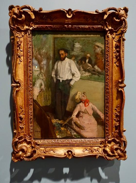 Portrait on Henri Michel-Levy by Edgar Degas