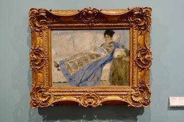 Portrait of Madame Claude Monet by Pierre-Auguste Renoir