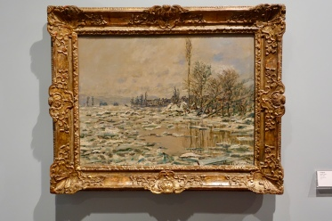 The Break Up of the Ice by Claude Monet