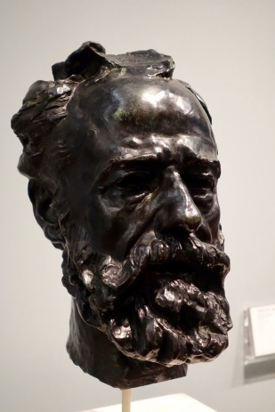 Portrait of Legros by Auguste Rodin
