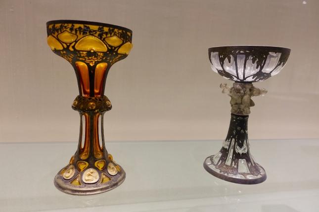 Lalique goblets, France 1898-1900