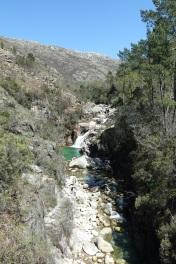 Rio Homen waterfall