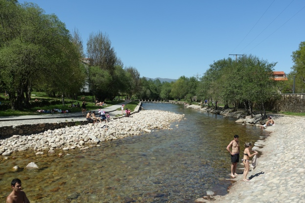 Rio Caldo at Os Banos in Spain