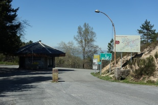 Old border post