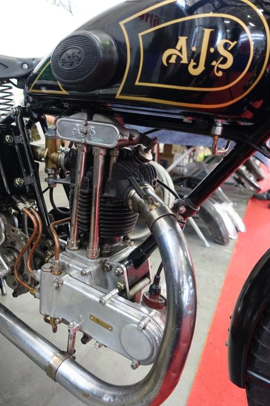 1928 AJS 350 Big Port