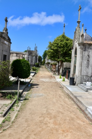 Dirt footpath in Carmo section
