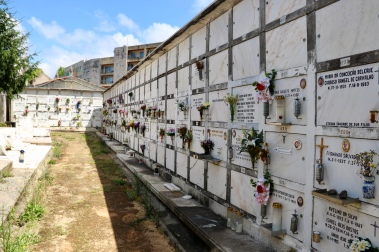 Ossuaries in Carmo section