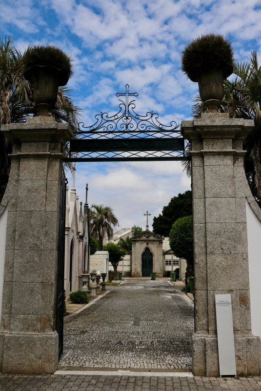 Entrance gate to Sao Francisco section