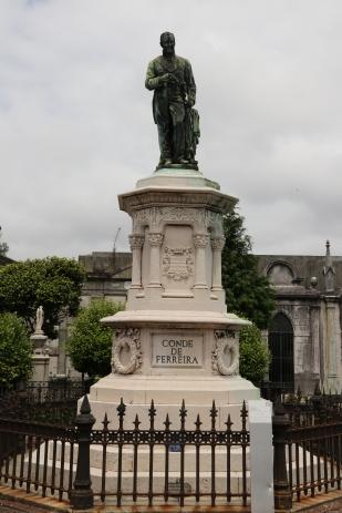 Joaquim Ferreira Dos Santos (1782-1866) Count of Ferreira. Businessman, Capitalist and Philanthropist