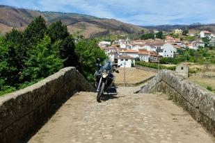 Steep slope on the bridge