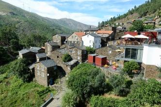 Restaurant and village