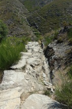 Rocky path to Drave
