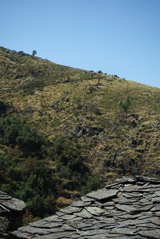 Car-parking up on the ridge