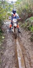 Muddy rut