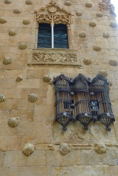 Castillian ironwork on windows