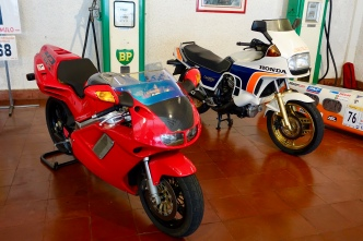 Honda NR750 (RC40) and Honda CX650 Turbo