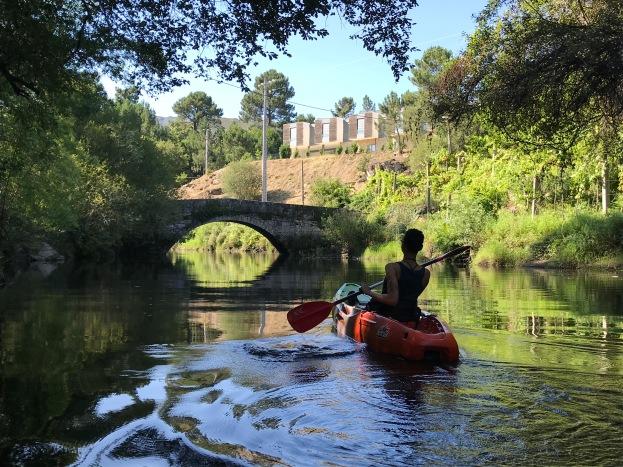 Heading back downstream
