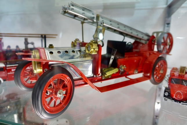 Steam powered fire engine