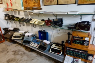 Phones and typewriters