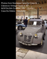 Certainly looked like a classic car show