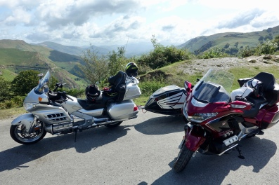 At the pass with views into France