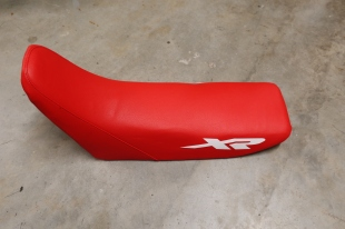 New seat cover fitted