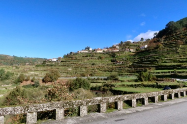 Sistelo viewed from the road