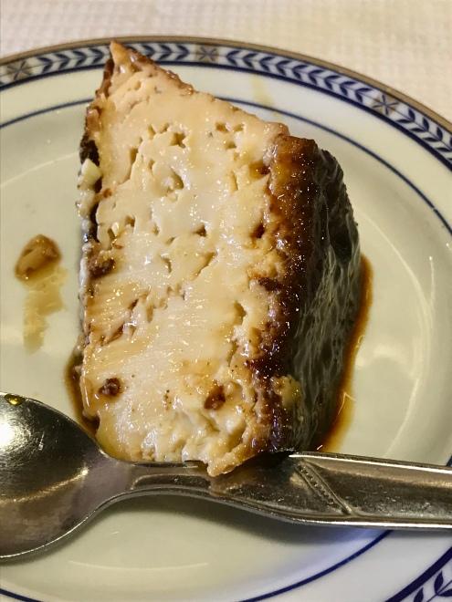 Pudim Flan for dessert