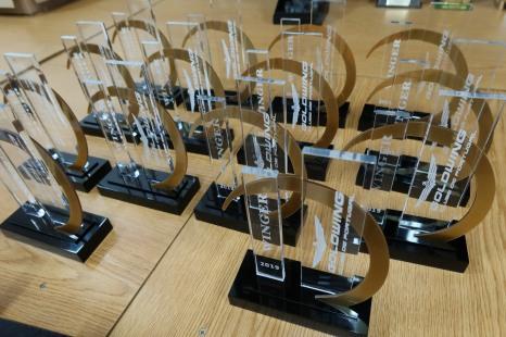 2019 Winger trophies