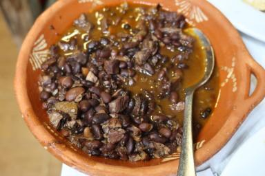 Beans with pork