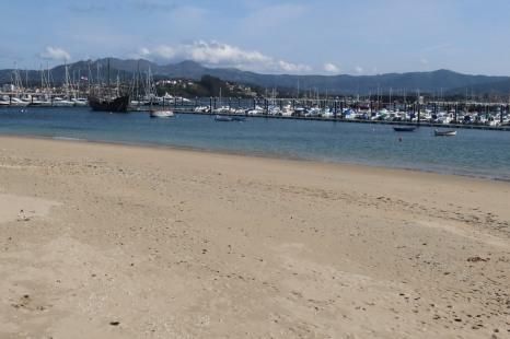 Beach at Baiona