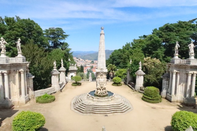 Top level, looking down into Lamego