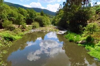 Rio Ferreira at Couce Bridge